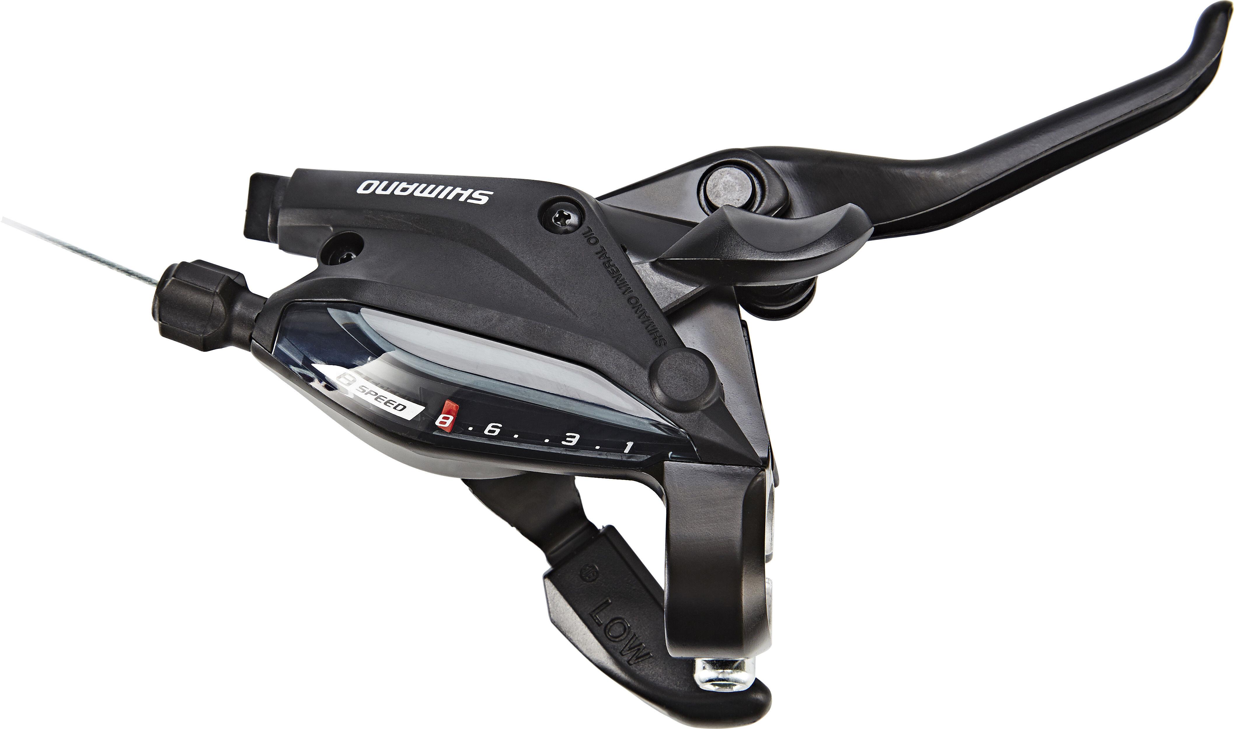 Shimano ST EF51 Manette de vitesse Noir VTT Levier de frein avec c/âble Courses Ensemble de Frein 3/×8 vitesses pour V/élo